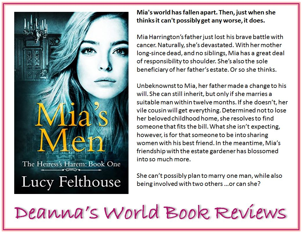 Mia's Men by Lucy Felthouse blurb