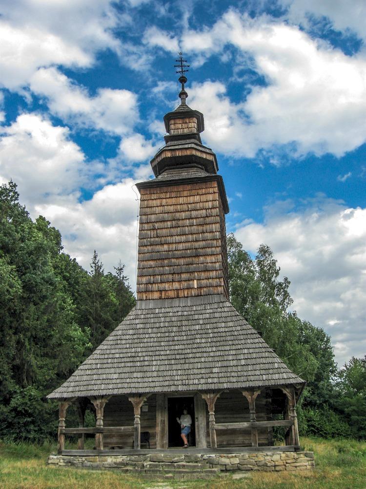 Церковь св. Покровы из села Канора, Закарпатская область.