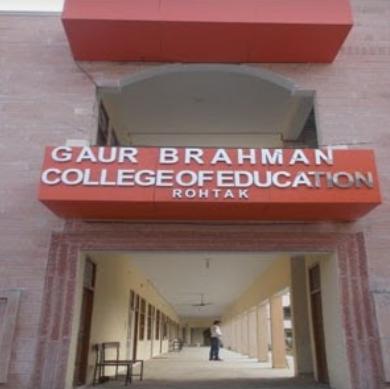 Gaur Brahman College of Education, Rohtak
