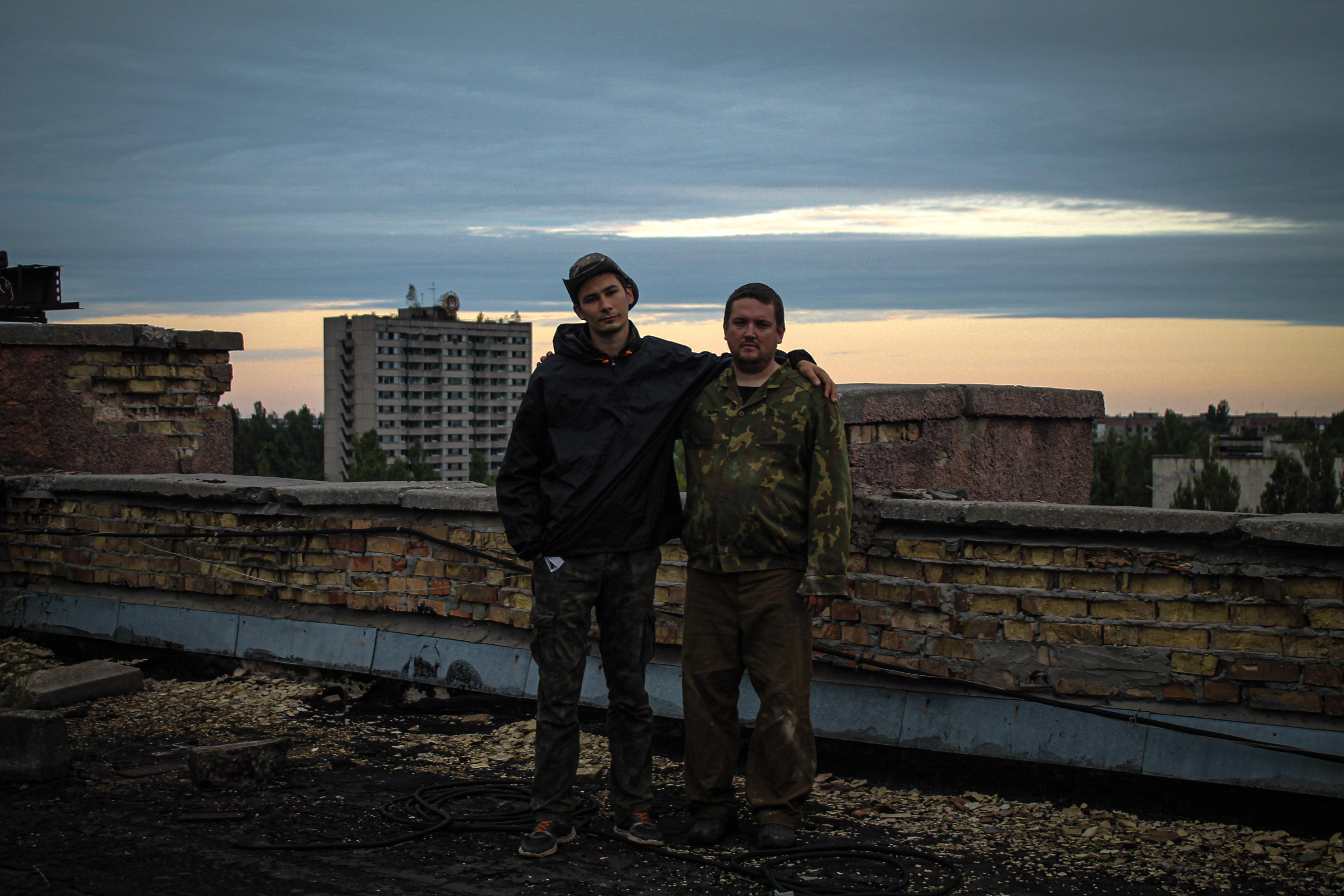 Нелегальный поход в Зону отчуждения: размышления на крыше как кульминация похода