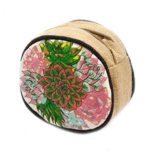 round eco bag - cactus