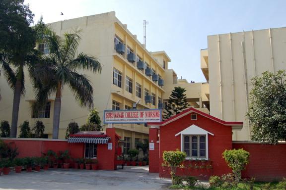 Guru Nanak College of Nursing, Dhahan Kaleran