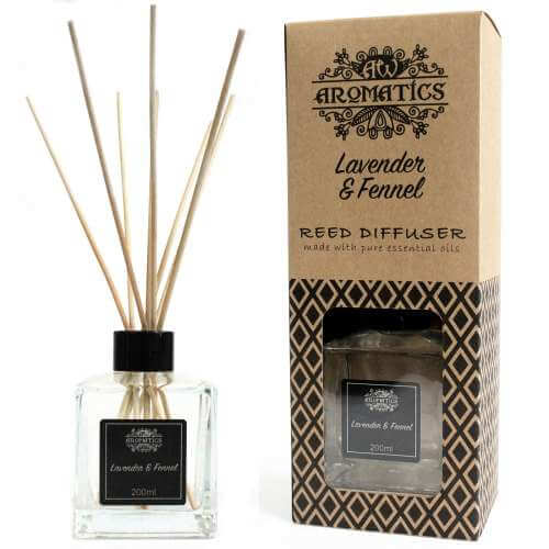 essential oil reed diffuser - lavender & fennel
