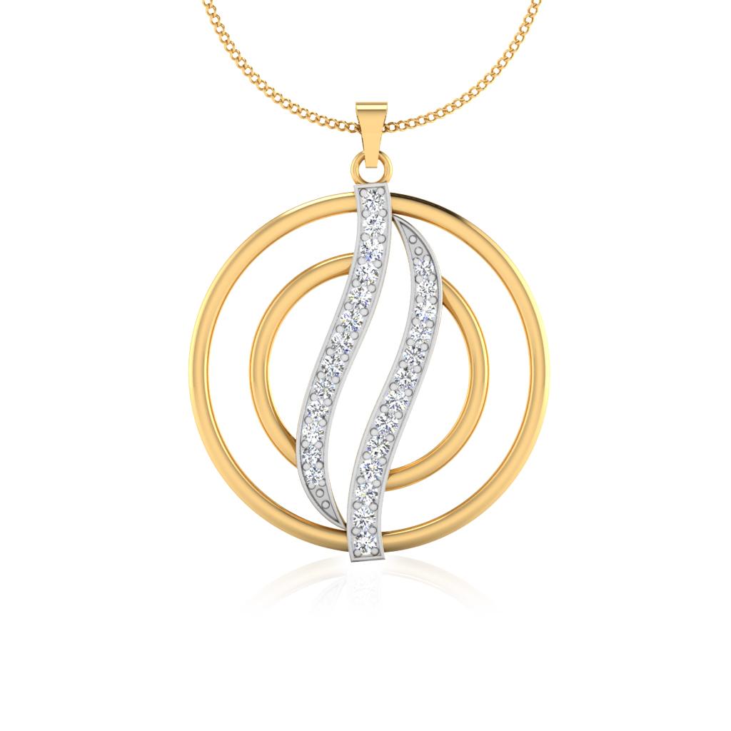 The Coral Diamond Pendant
