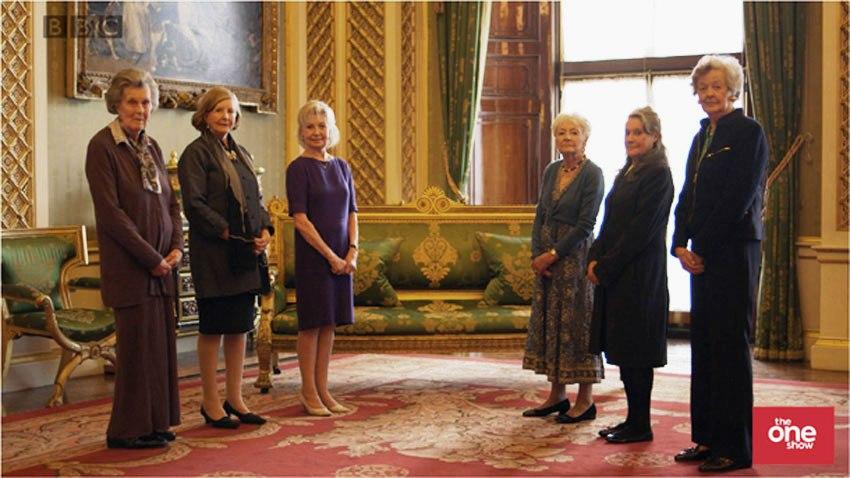 Elizabeth's maids of honour, 2013