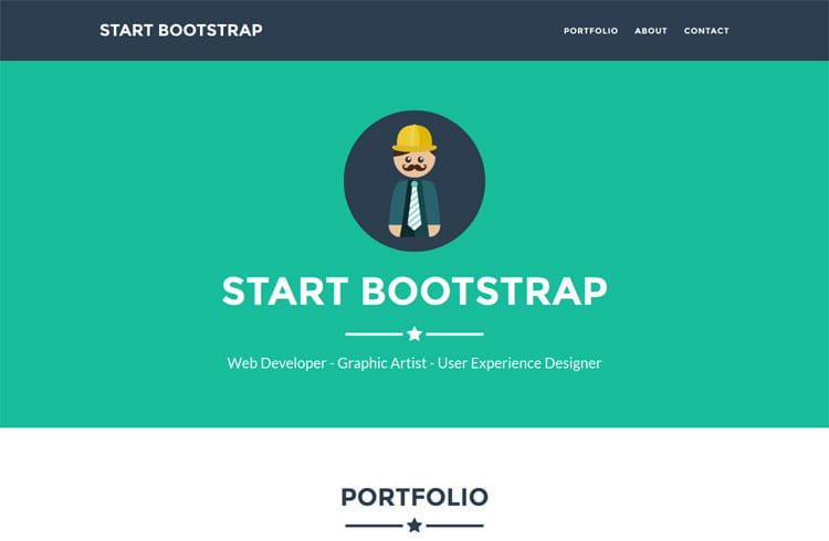 Freelancer – Responsive Free Bootstrap Template