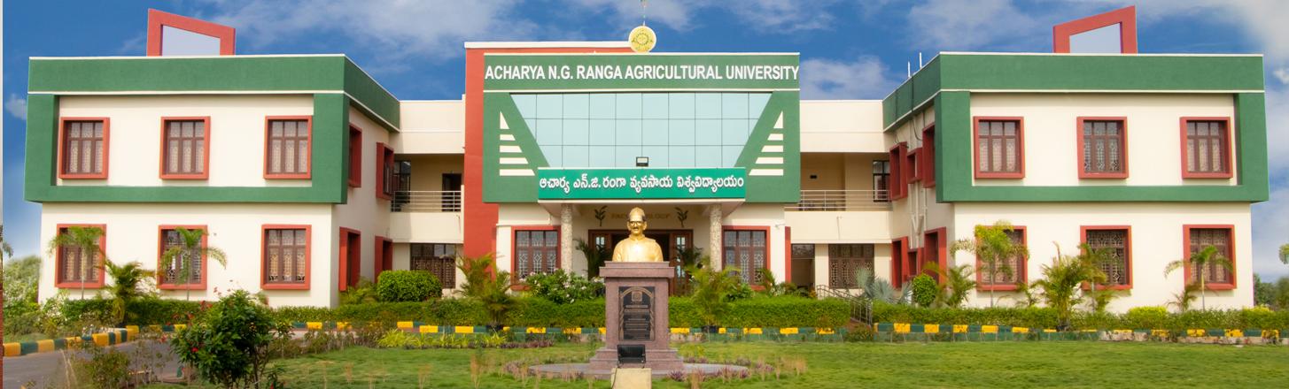 Acharya N.G. Ranga Agricultural University, Guntur