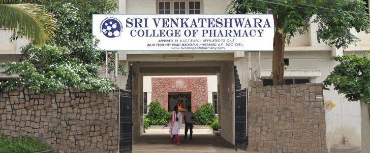 Sri Venkateshwara college of pharmacy, Hyderabad Image