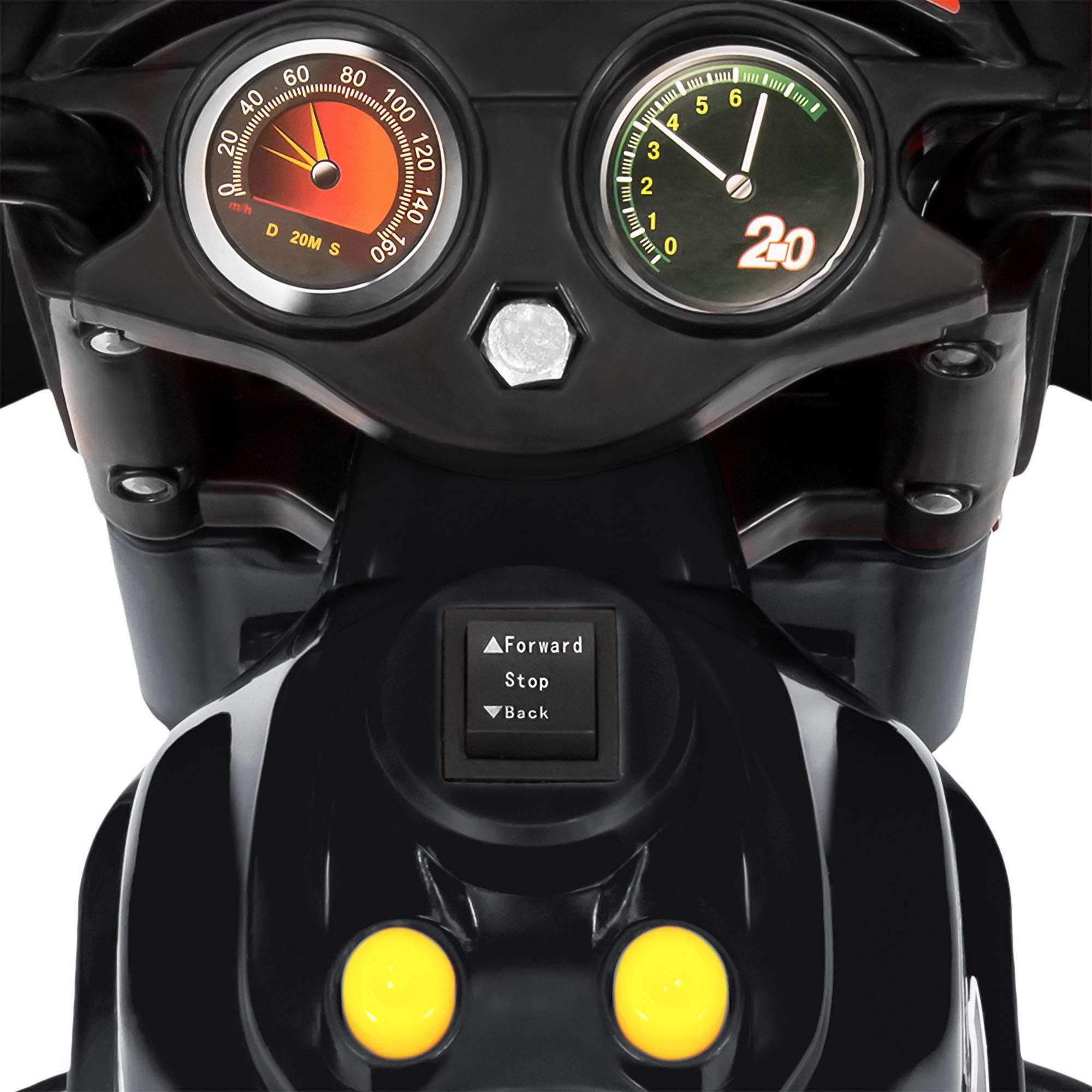 BCP-6V-Kids-3-Wheel-Motorcycle-Ride-On-Toy-w-LED-Lights-Music-Storage thumbnail 12