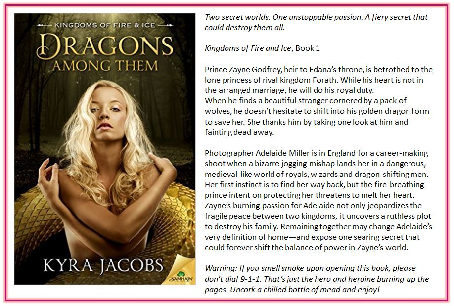 Dragons Among Them by Kyra Jacobs blurb