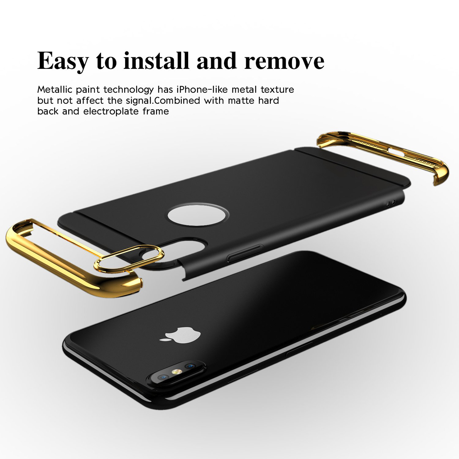 thumbnail 43 - Luxury Matte Case Tempered Glass Cover For Apple iPhone X XS XR Max 10 8 7 6s 6