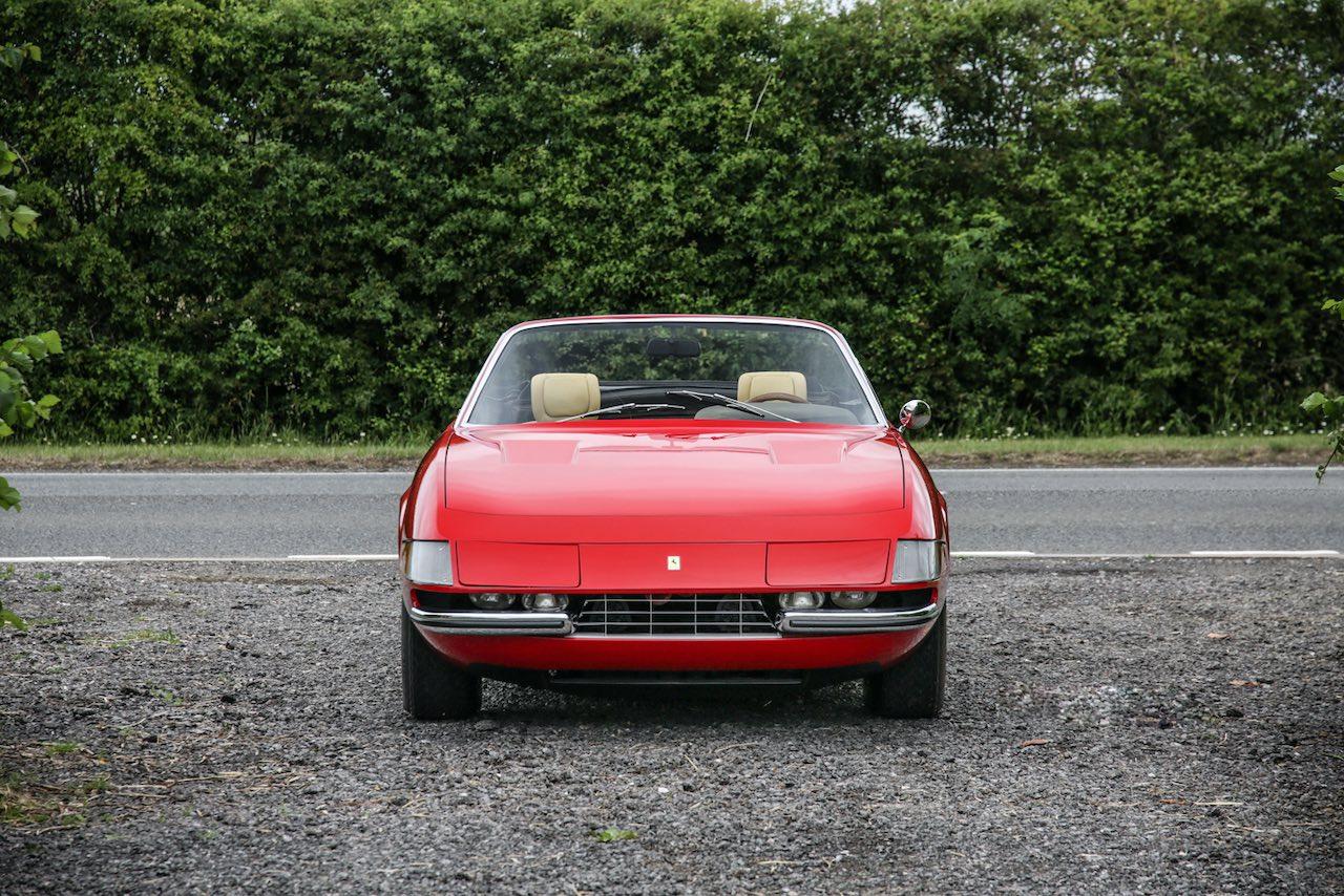 Historics to auction Ferrari 365 4 Daytona Spider Prototype
