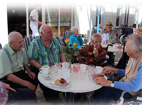 Eisnmachmittag im Seniorenwohnheim Mehrnbach