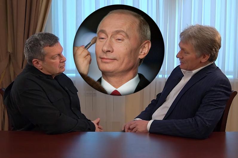 Разбираю сказки Пескова о Путине в интервью Соловьеву