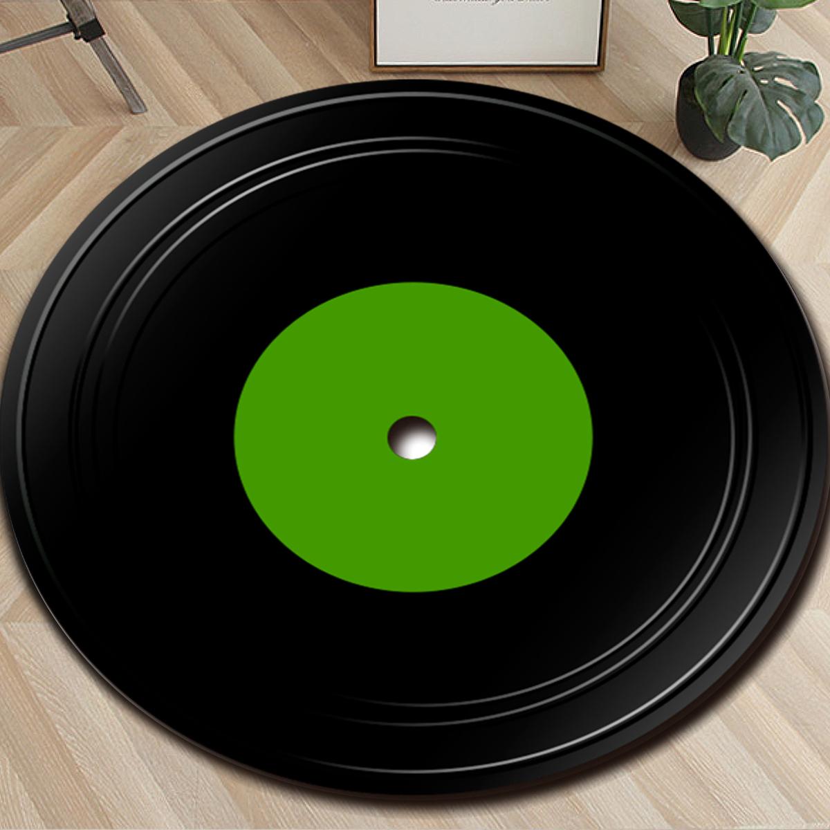 Rugs Amp Carpets Fashions Vinyl Record Carpet Round Floor