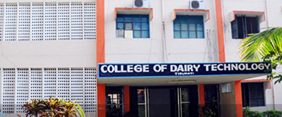 College of Dairy Technology, Tirupati