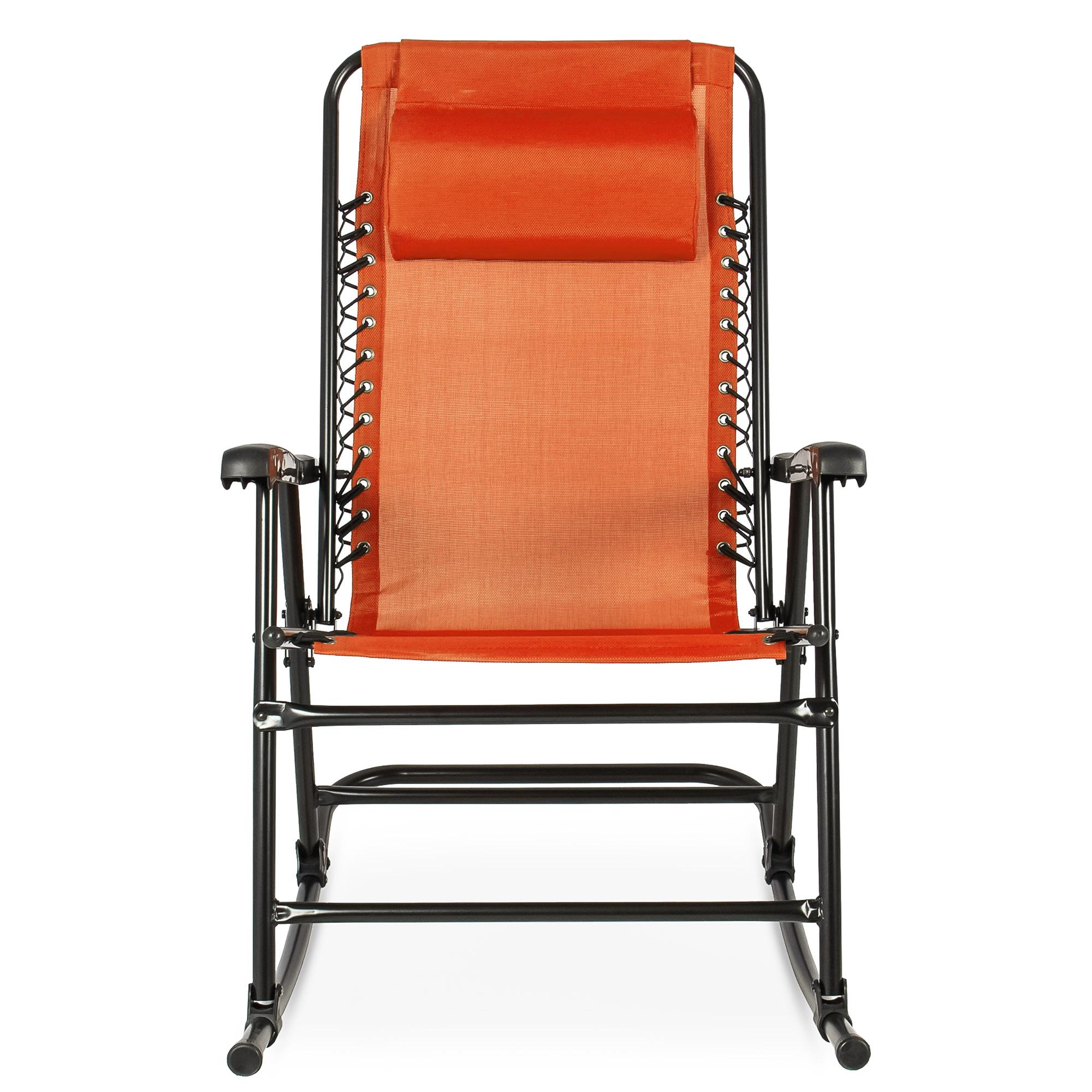 BCP-Foldable-Zero-Gravity-Patio-Rocking-Lounge-Chair thumbnail 53