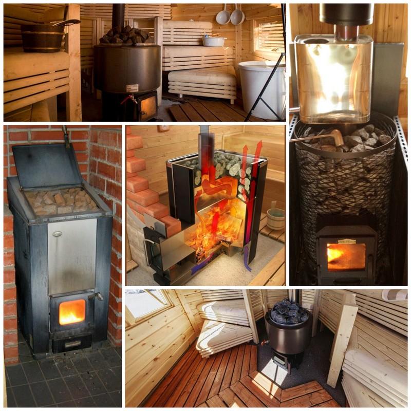 Как рассчитать объем тепловой мощности печи для бани?