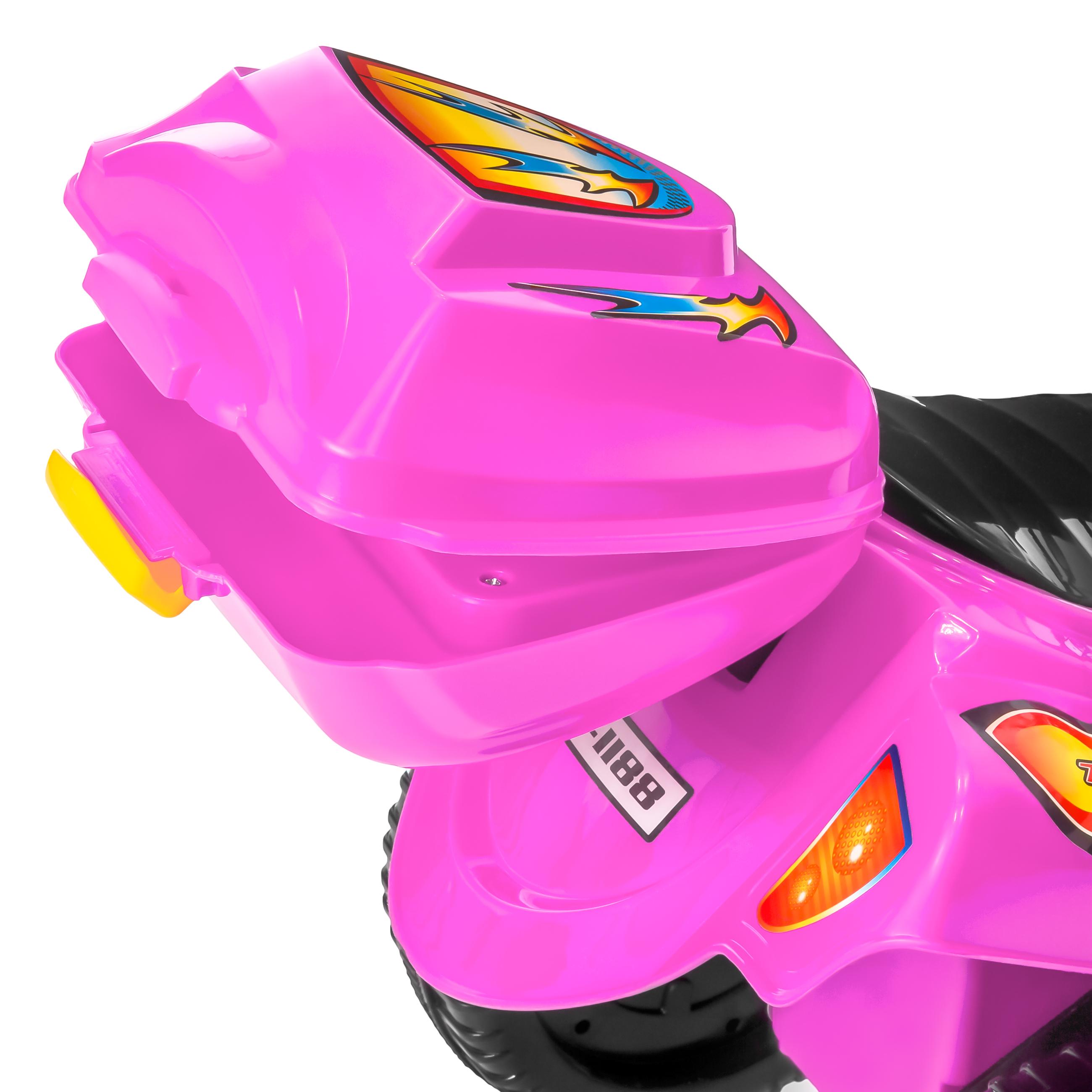 BCP-6V-Kids-3-Wheel-Motorcycle-Ride-On-Toy-w-LED-Lights-Music-Storage thumbnail 27