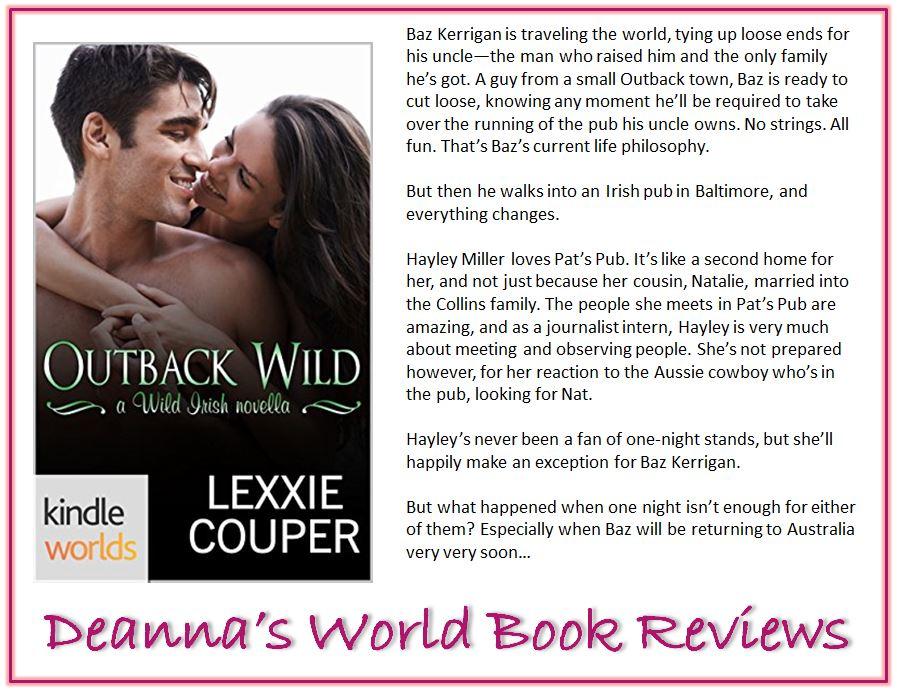 Outback Wild by Lexxie Couper blurb