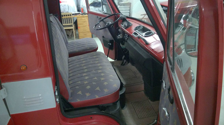 1970 Fiat 238 Van