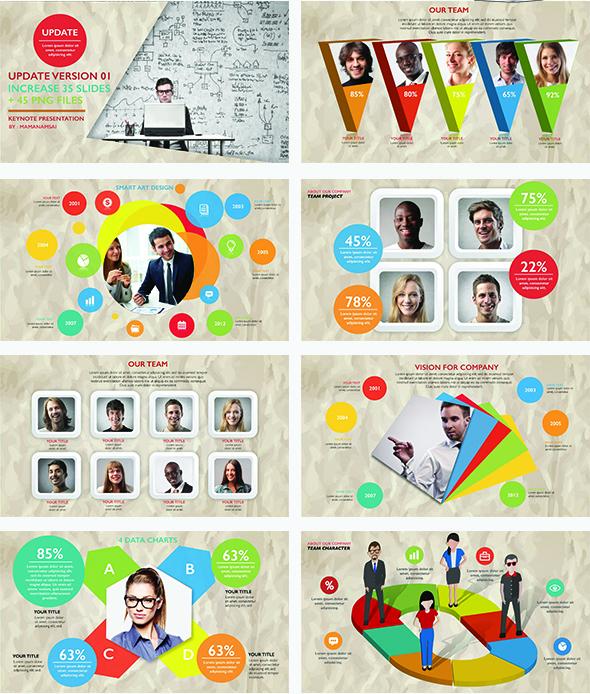 Infographic Keynote Presentation Update V.1 - 2