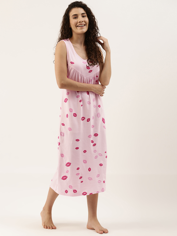 Slumber Jill pink marshmallow Nightdress