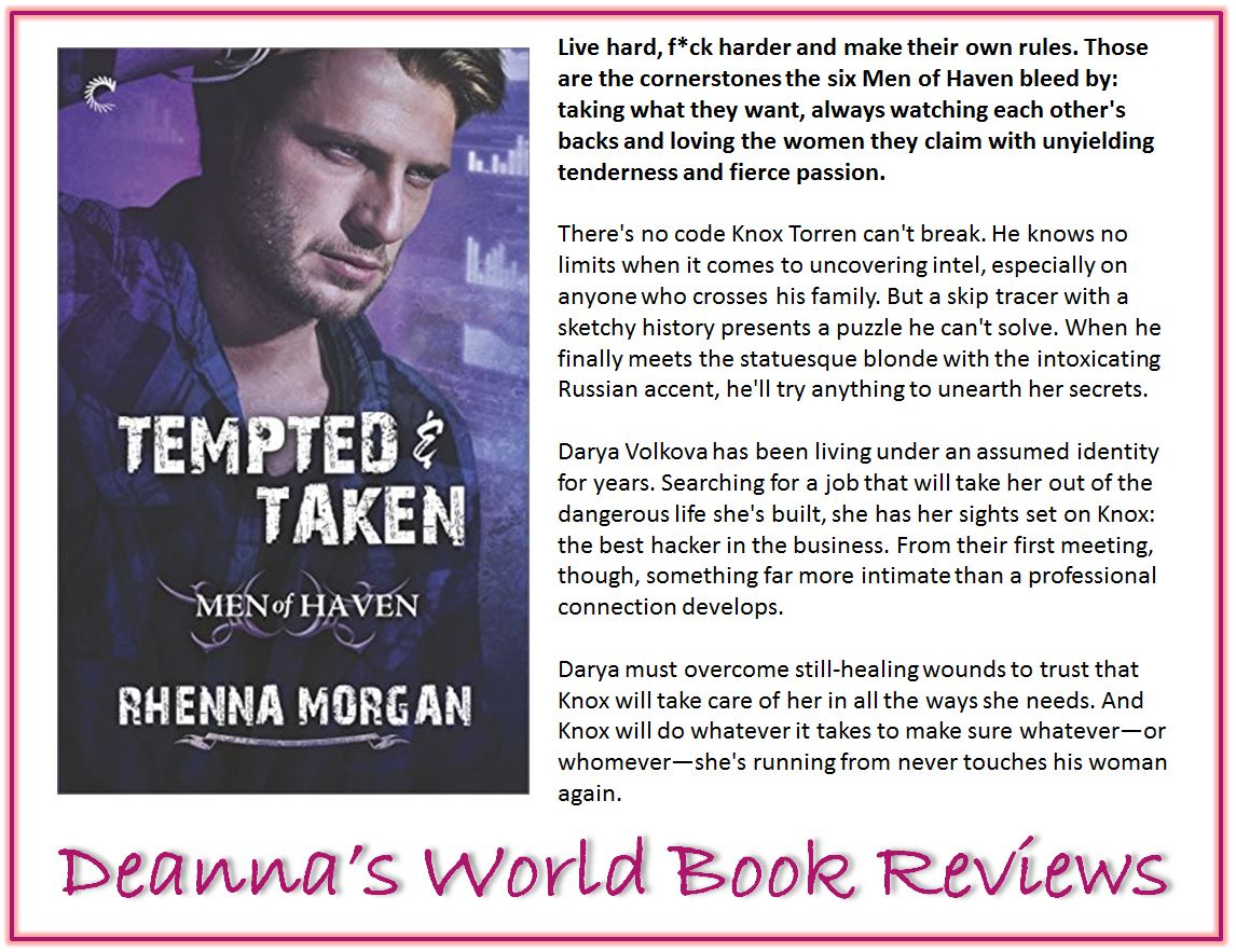Tempted and Taken by Rhenna Morgan blurb