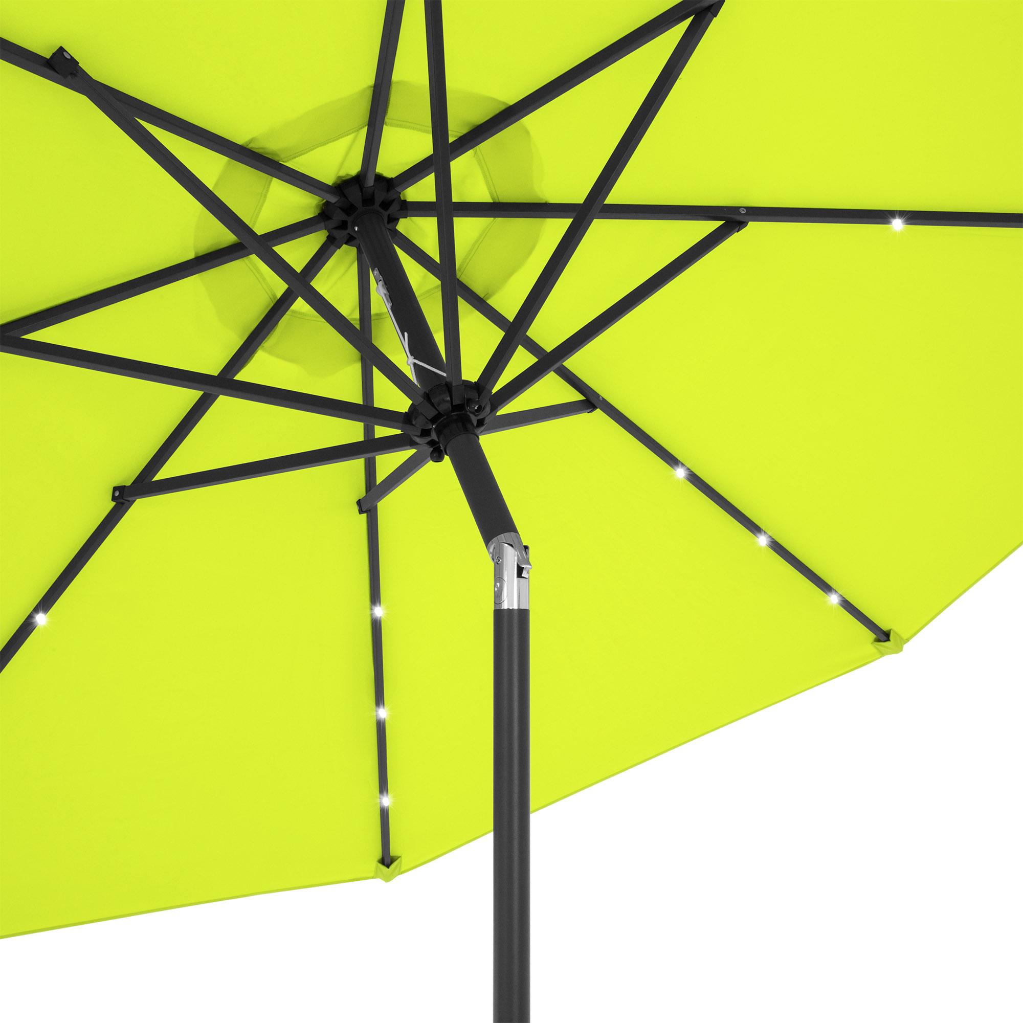 BCP-10ft-Solar-LED-Lighted-Patio-Umbrella-w-Tilt-Adjustment-Fade-Resistance thumbnail 40