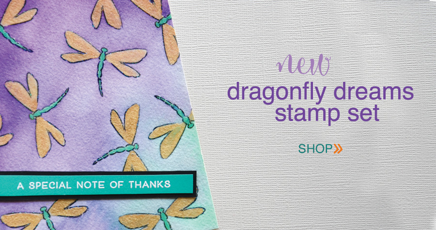 Dragonfly-Greetings-clear-stamp-set