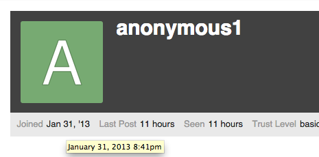 How will anonymous posting mode work?