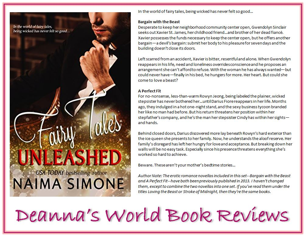 Fairy Tales Unleashed by Naima Simone blurb