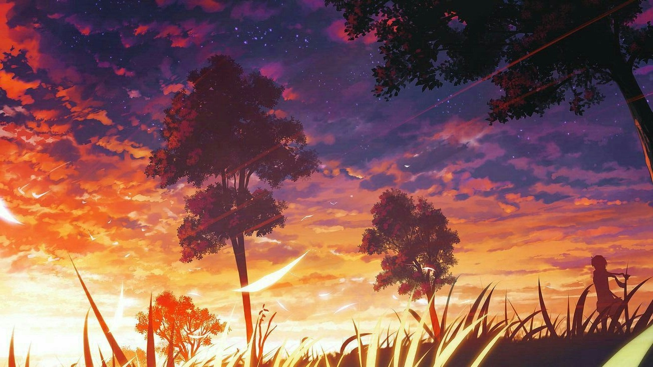 Anime Nature Background 1