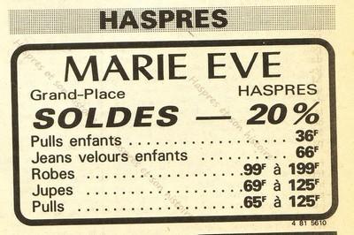 Marie Eve à Haspres