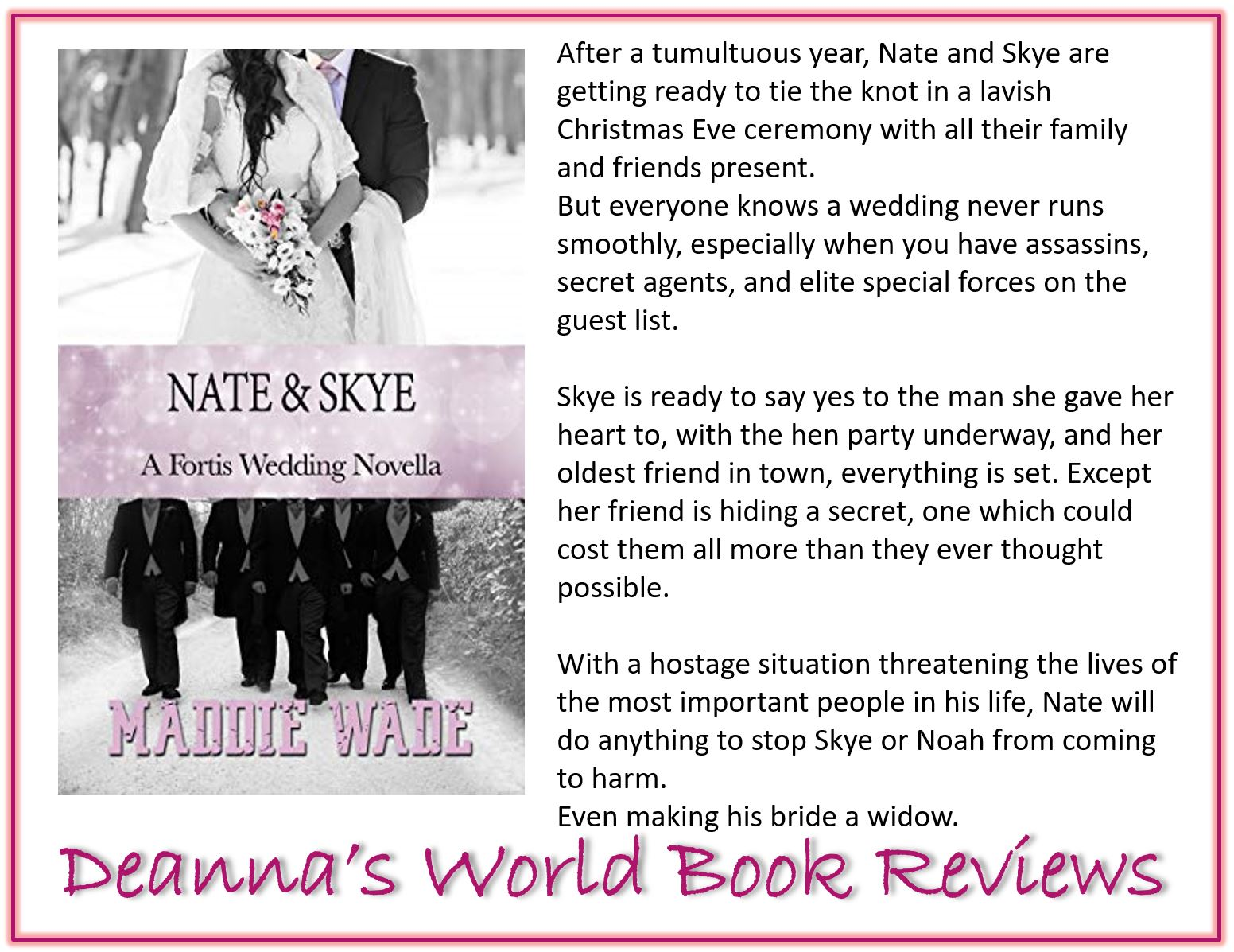 Nate and Skye by Maddie Wade blurb