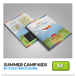 summer-camp-kids-bifold-brochure