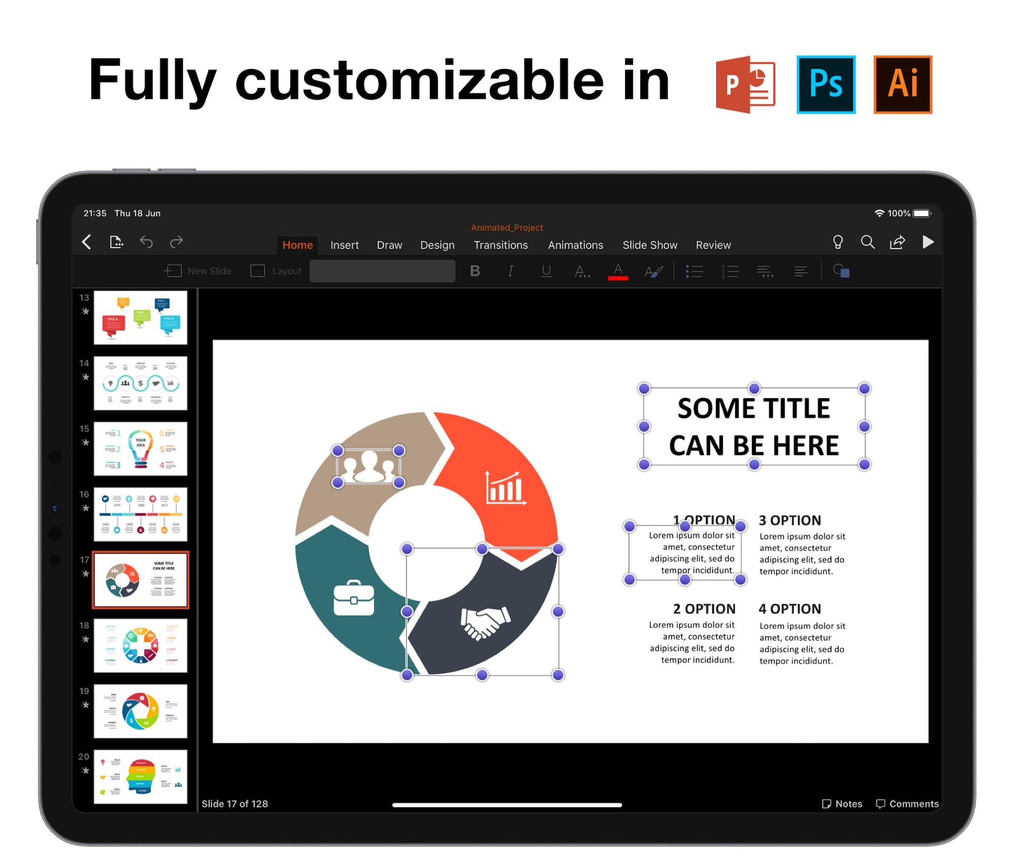 Huge Infographics Bundle! Lifetime Updates! PowerPoint, Photoshop, Illustrator. - 3