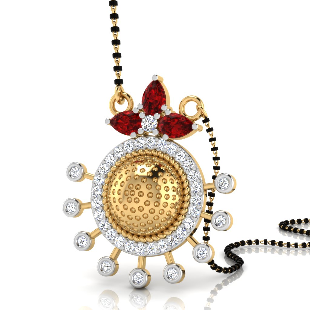 The Aadrika South Indian Diamond Mangalsutra
