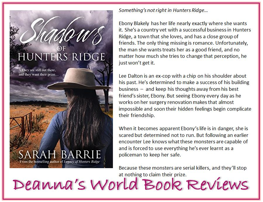 Shadows of Hunters Ridge by Sarah Barrie blurb