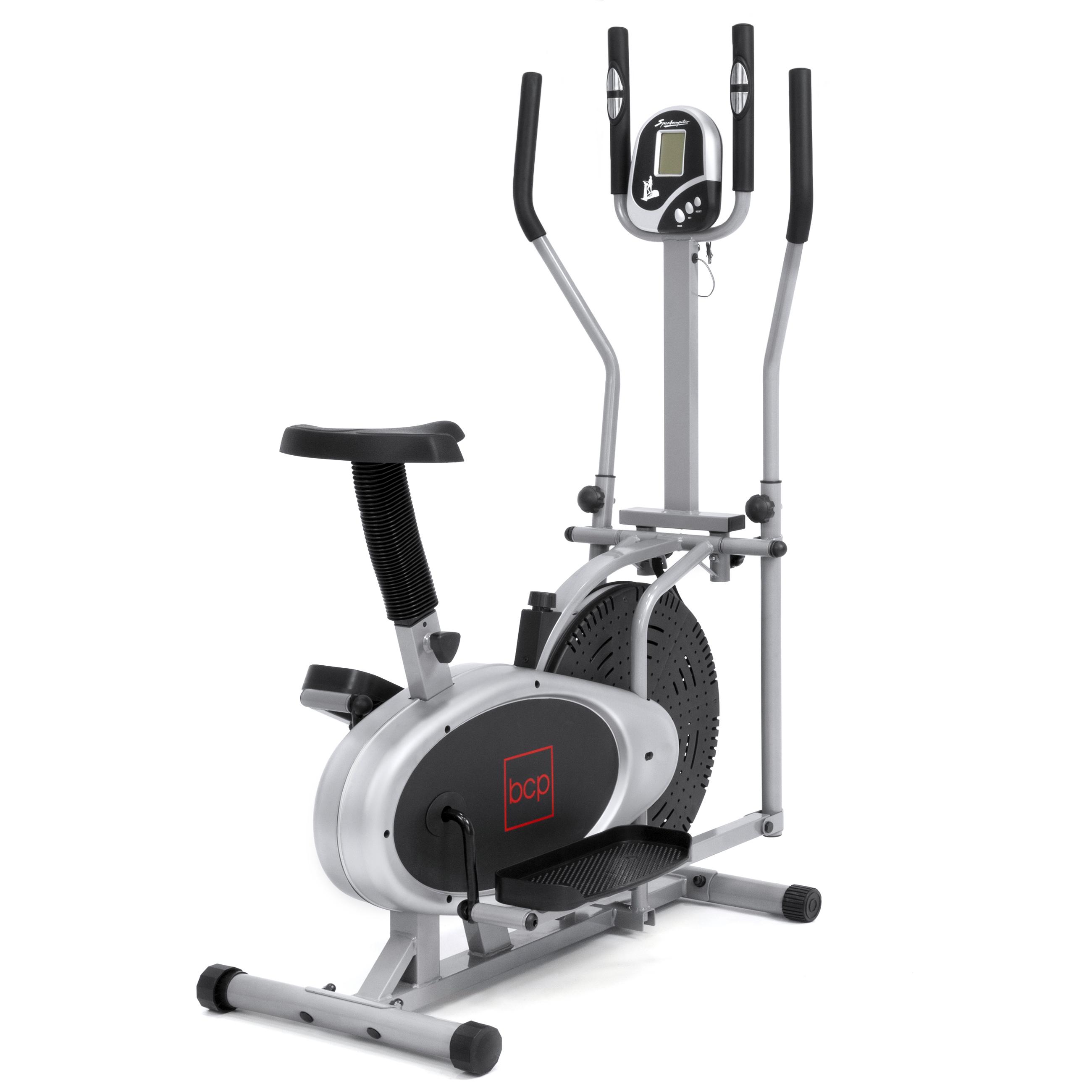 Elliptical Bike 2 IN 1 Cross Trainer Exercise Fitness