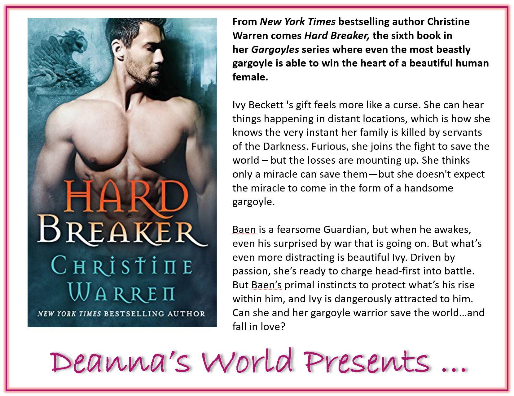 Hard Breaker by Christine Warren blurb