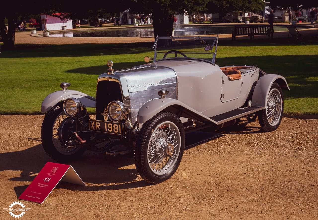 World's oldest Aston Martin set for Concours of Elegance