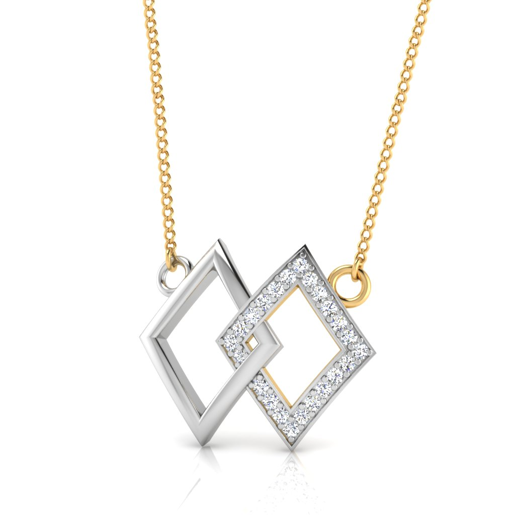 The Crispy Diamond Pendant