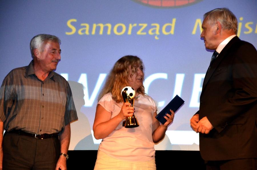 Piłkarskie Kaziki 2014 - Wręczanie nagrody