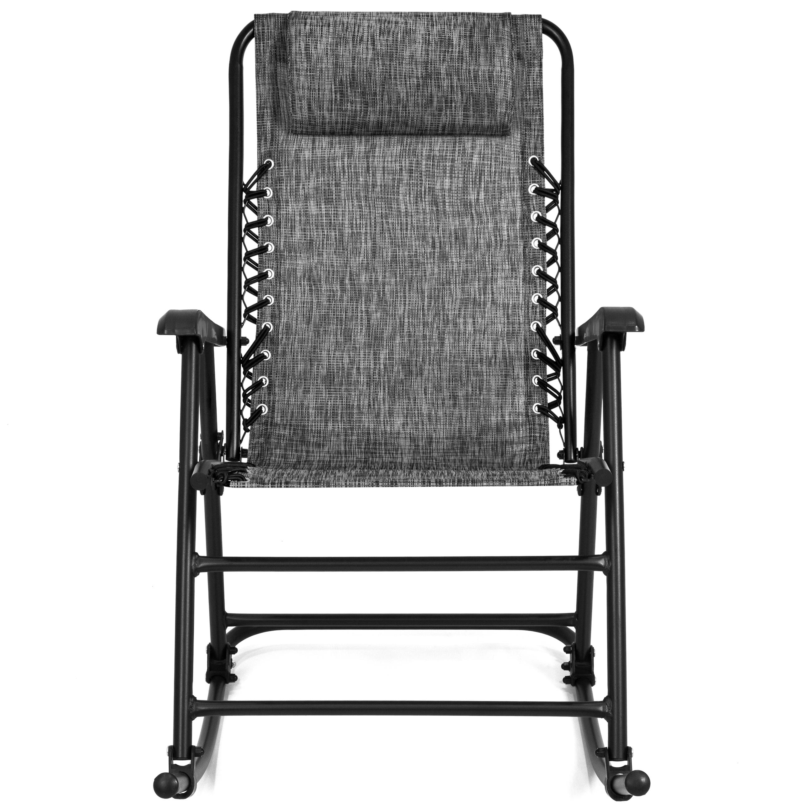 BCP-Foldable-Zero-Gravity-Patio-Rocking-Lounge-Chair thumbnail 39