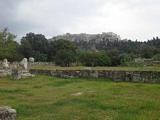 склоны Акрополя