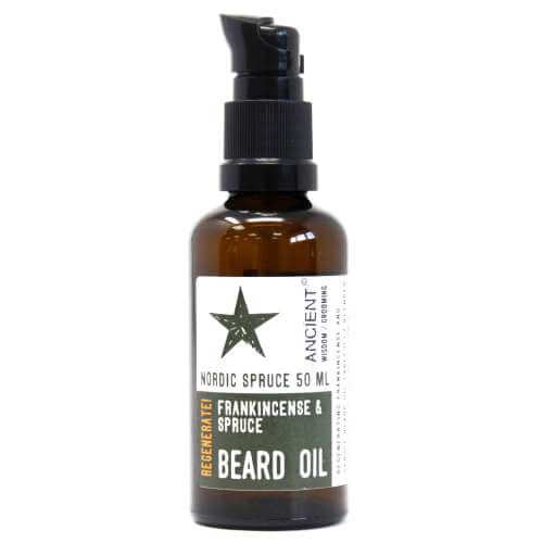 beard oil 50ml - frankincense & spruce