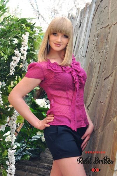 Photo gallery №10 Ukrainian bride Anastasia