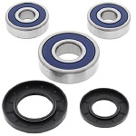 Boss Bearing 41-6292B-8J8-A Rear Wheel Bearings and Seals Kit Yamaha FZR1000 ...