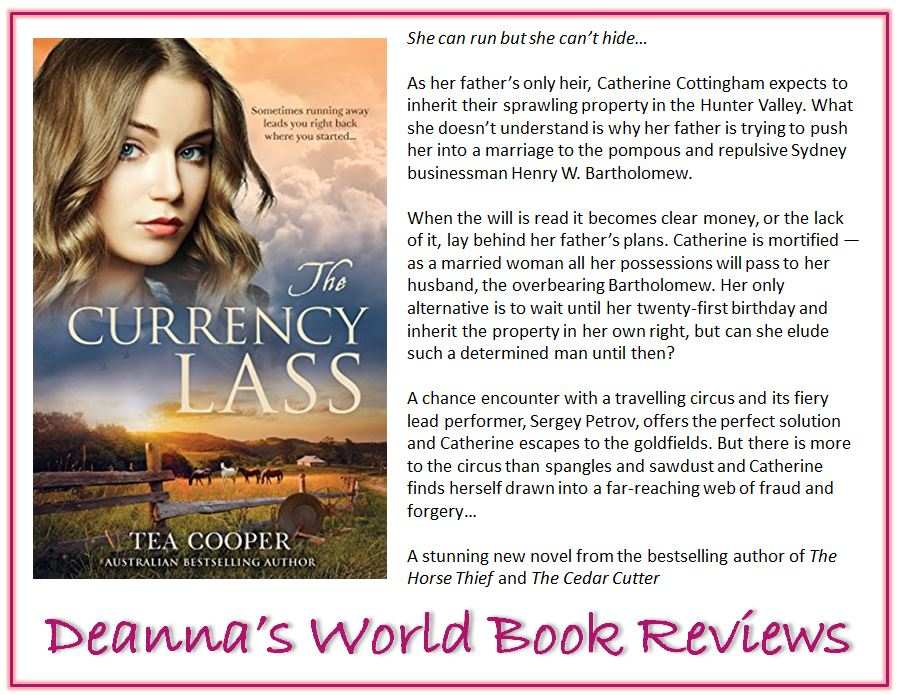 The Currency Lass by Tea Cooper blurb